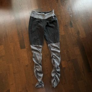 Nike black and gray yoga pants